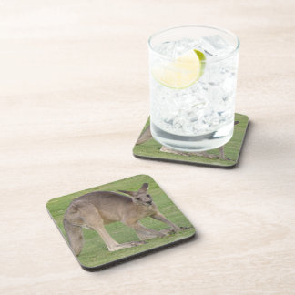 Kangaroo  Cork Coasters