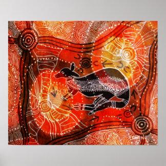 Kangaroo Corroboree Poster