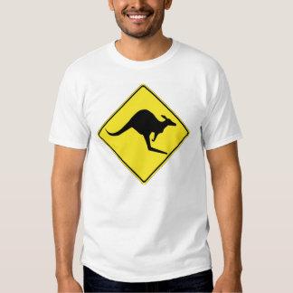 Kangaroo Crossing 1 Shirt