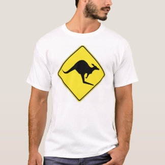 Kangaroo Crossing 1 T-Shirt