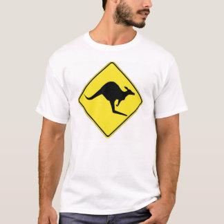 Kangaroo Crossing 1 T-Shirt