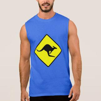 KANGAROO CROSSING - down under/oz/australia/aussie T-shirt