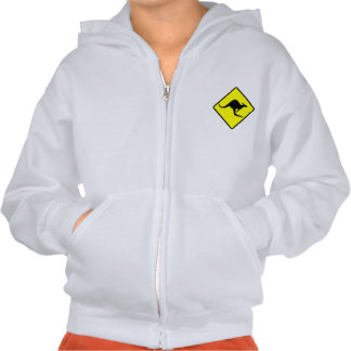 KANGAROO CROSSING -roo/wallaby/australia/oz/aussie T Shirt