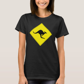 Kangaroo Crossing t-shirt