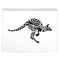 Kangaroo design calendar