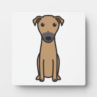 Kangaroo Dog Cartoon Display Plaques