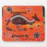 Kangaroo Dreaming Mousepad
