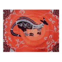 Kangaroo Dreaming Postcard