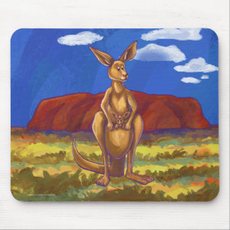 Kangaroo Gifts & Accessories Mouse Pad