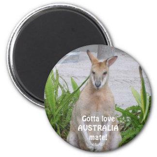 Kangaroo Gotta loveAUSTRALIAmate!, ©BLHS Magnet