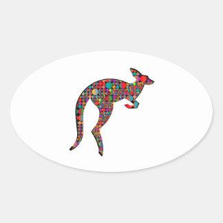 Kangaroo Heights Oval Sticker