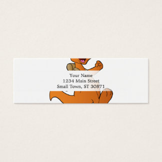 kangaroo hiker mini business card