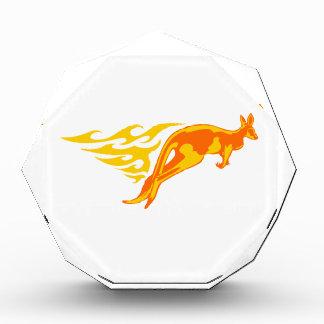 Kangaroo in Flames Award