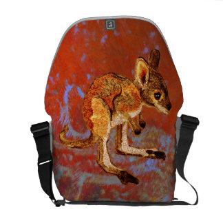 Kangaroo Joey Messenger Bags