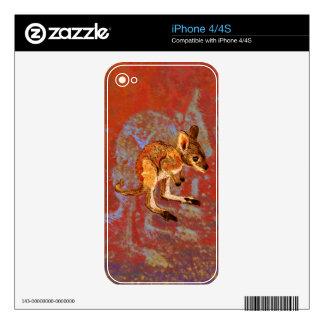 Kangaroo Joey Decal For iPhone 4S