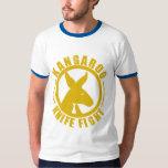Kangaroo Knife Fight - Logo Mens Shirt Royal Blue