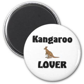 Kangaroo Lover Refrigerator Magnets