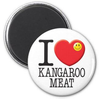 Kangaroo Meat 2 Inch Round Magnet