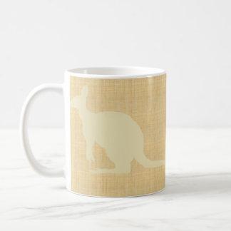Kangaroo Classic White Coffee Mug