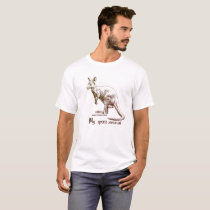 Kangaroo My spirit animal T-Shirt
