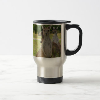 Kangaroo Paddock Travel Mug