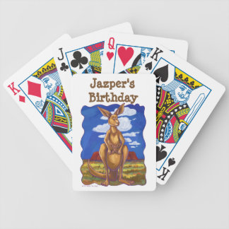 Kangaroo Party Center Bicycle Playing Cards