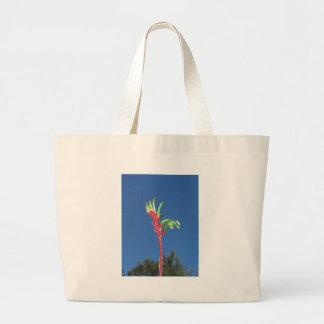 KANGAROO PAW PLANT TOTE BAGS