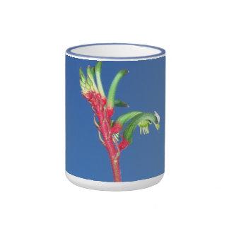 KANGAROO PAW PLANT COFFEE MUGS