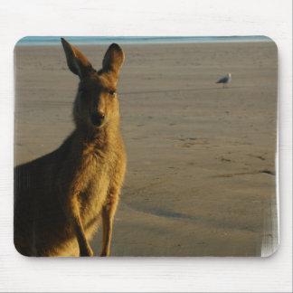 Kangaroo Photo Mousepad