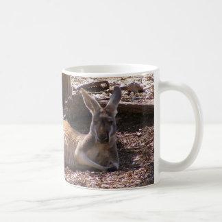 Kangaroo Picnic Coffee Mugs