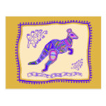 Kangaroo Quilt Postcards