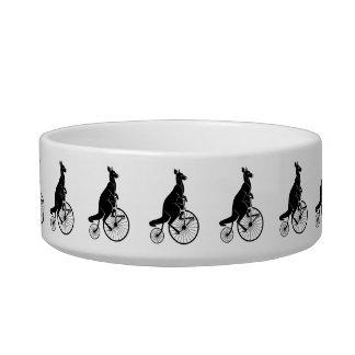 Kangaroo Riding a Bike Bowl
