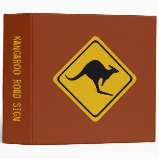 kangaroo road sign binder