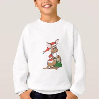 Kangaroo Santa Sweatshirt