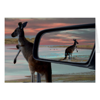 Kangaroo_Sea_Breezes,_Greeting_Card. Card