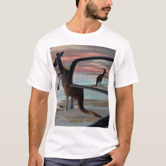 Kangaroo_Sea_Breezes,_Mens_White_T-shirt T-Shirt