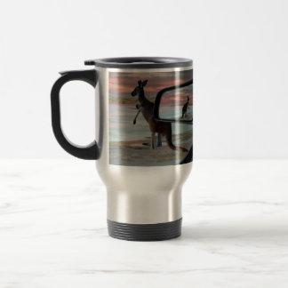 Kangaroo_Sea_Breezes,_Travel_Coffee_Mug Travel Mug