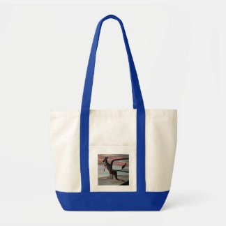 Kangaroo Seaside Breezes Illusion Art, Tote Bag