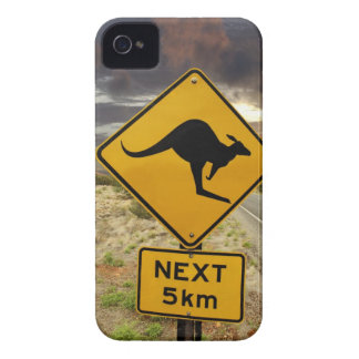 Kangaroo sign, Australia Case-Mate iPhone 4 Case