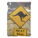 Kangaroo sign, Australia iPad Mini Covers