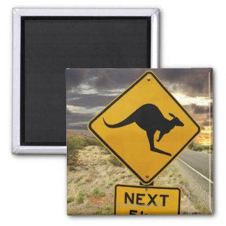 Kangaroo sign, Australia Magnet