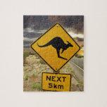 Kangaroo sign, Australia Puzzle