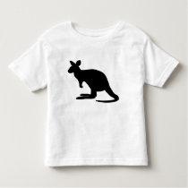 Kangaroo Silhouette Toddler T-shirt