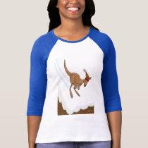 Kangaroo Ski Jump T Shirt