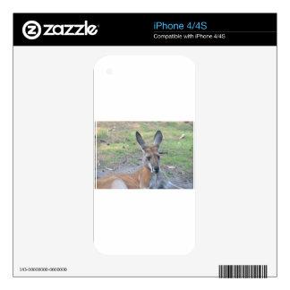 Kangaroo Skin For iPhone 4S