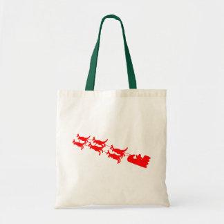 Kangaroo Sleigh Tote Bag
