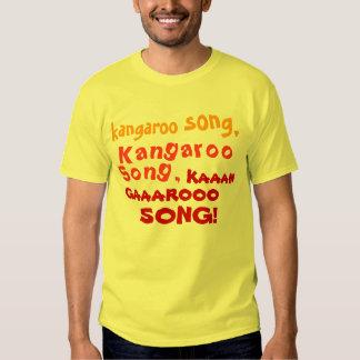 Kangaroo Song! T Shirts