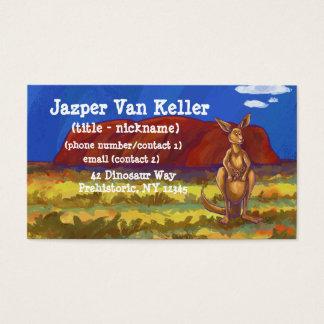 Kangaroo Stationery Business Card
