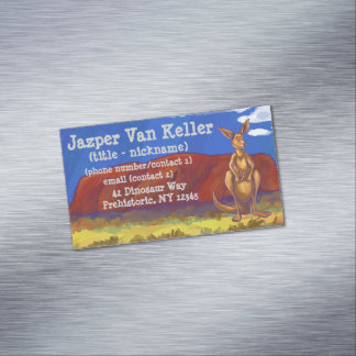 Kangaroo Stationery Magnetic Business Card