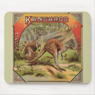 Kangaroo Tobacco 1900 Mouse Pad